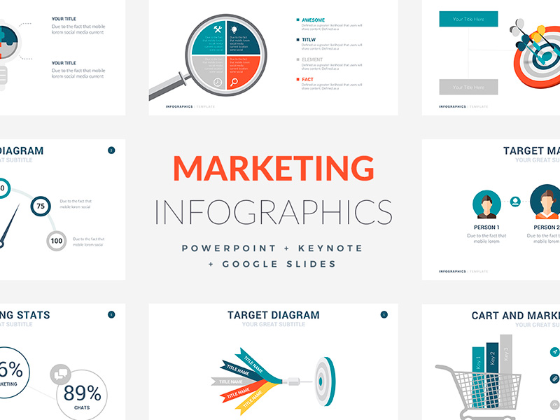 Crear infografías para Marketing